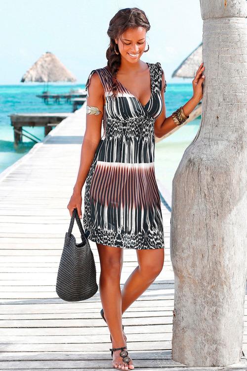 Urban Shirred Waist Dress