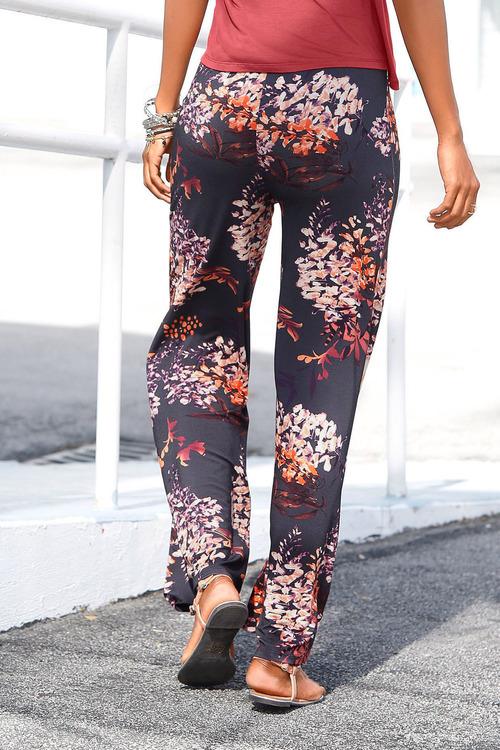Urban Printed Wide Leg Pant