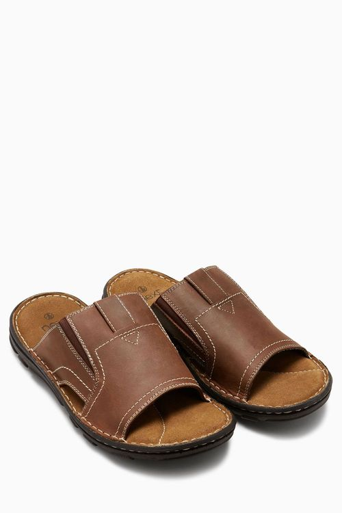 Next Leather Mule