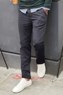 Next Laundered Chinos - Slim Fit