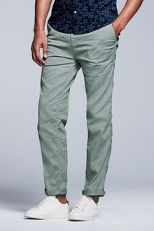 Next Laundered Chinos - Straight Fit