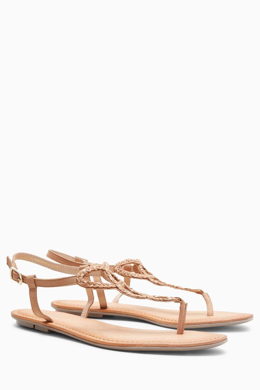 66aa4b5aca94da Next Leather Toe Post Sandals Online