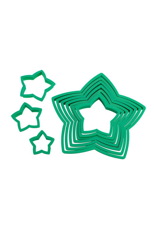 Avanti Star Christmas Tree Cookie Cutter Set