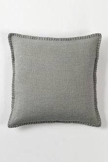 Linen Look Blanket Stitch Cushion