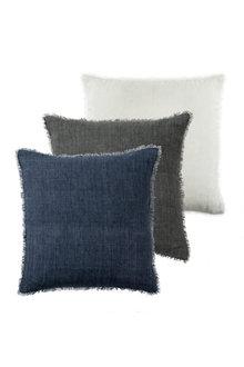 Fringe Linen Cushion