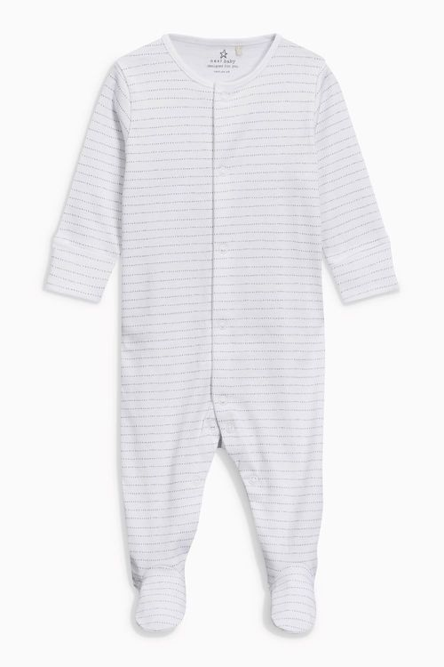 Next Cloud Print Sleepsuits Four Pack (0mths-2yrs)