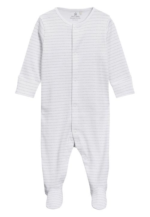Next Cloud Print Sleepsuits Four Pack (0mths-2yrs)
