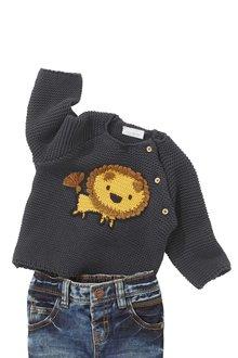 Next Lion Knit Jumper (0mths-2yrs)