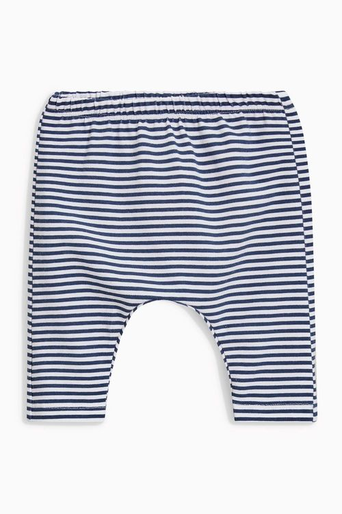 Next Navy Leggings Three Pack (0mths-2yrs)