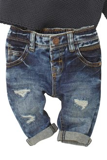 Next Ripped Jeans (0mths-2yrs)
