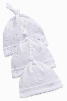 Next Tie Top Hats Three Pack (0-12mths)