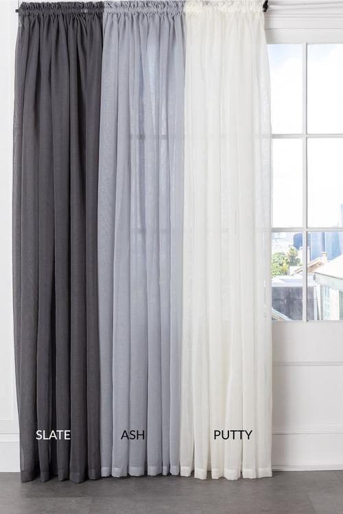 Voile Curtain Pair Online Shop Ezibuy Home
