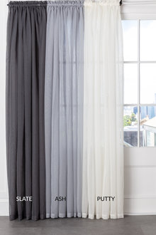 Voile Curtain Pair