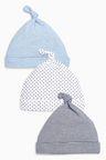 Next Tie Top Hats Three Pack (0-18mths)
