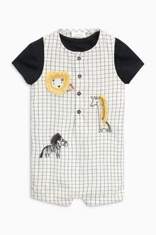 Next Check Animal Dungaree Set (0mths-2yrs)