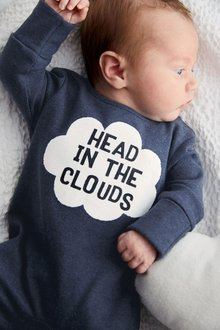 Next Head In The Clouds Sleepsuit (0mths-2yrs)