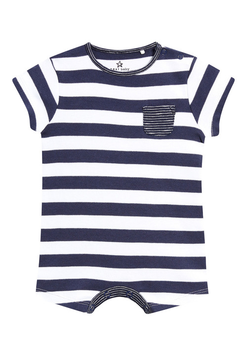 Next Stripe And Star Short Leg Rompers Four Pack (0mths-2yrs)