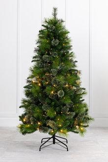 6 Foot Prelit Christmas Tree