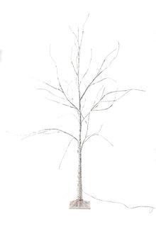 5 Foot Prelit Birch Tree