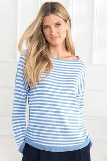 Grace Hill Cotton Blend Knitwear - 205102