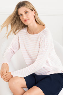 Grace Hill Cotton Blend Knitwear