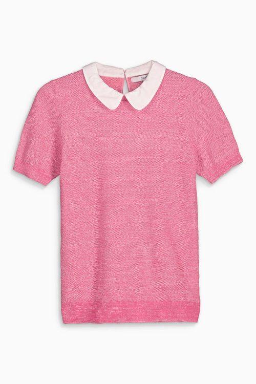Next Short Sleeve Collar Layer