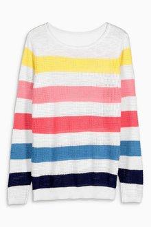 Next Stripe Sweater