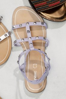 Next Gladiator Stud Sandals