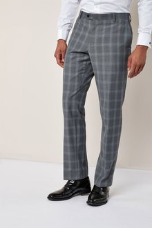Next Check Tailored Fit Suit: Trousers