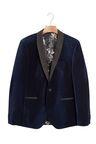 Next Velvet Jacket - Slim Fit