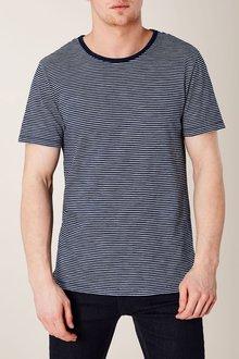 Next Indigo Stripe T-Shirt