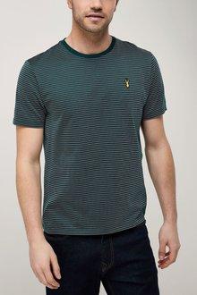 Next Premium Jacquard T-Shirt