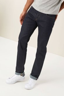 Next Raw Denim Stretch Selvedge Jeans
