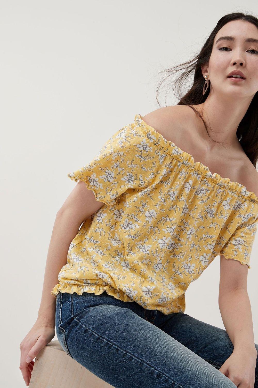 6189ce67e878e Next Floral Bardot Top Online