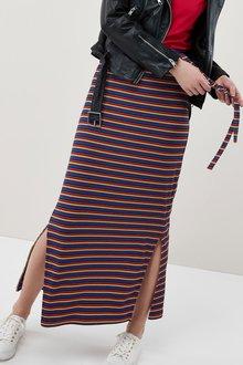 Next Stripe Tube Skirt