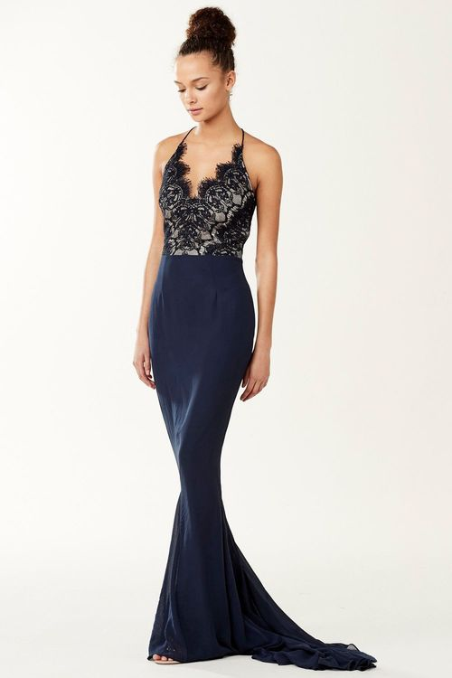 Next Lace Detail Prom Dress