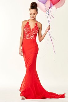 Next Lace Detail Prom Dress