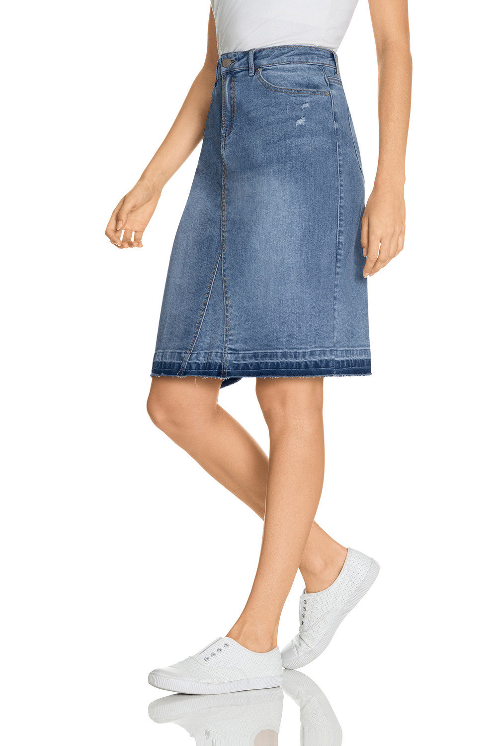 b076a63fd2d0c Emerge Denim Skirt Online