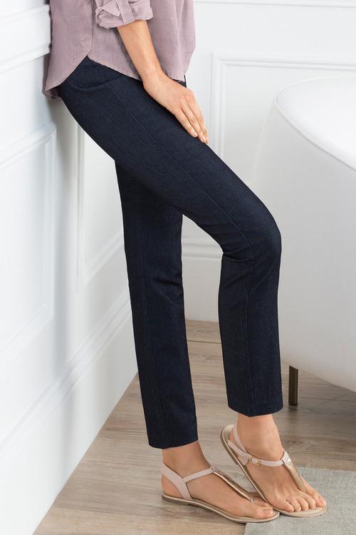 Grace Hill Tailored Denim Pant