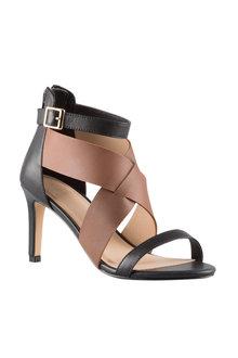 Krissie Crossover Sandal Heel - 205485