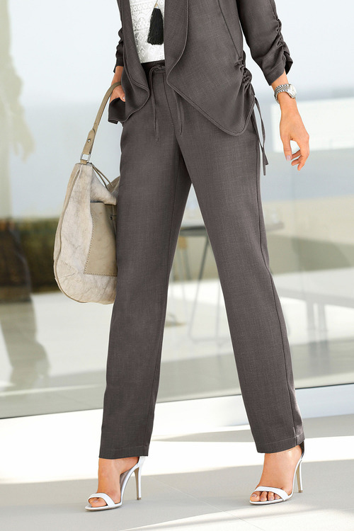 Euro Edit Tie Front Trousers