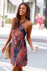 Urban Paisley Dress