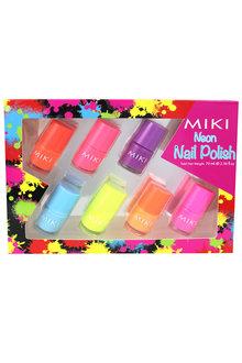 Miki Neon Nail Polish Set