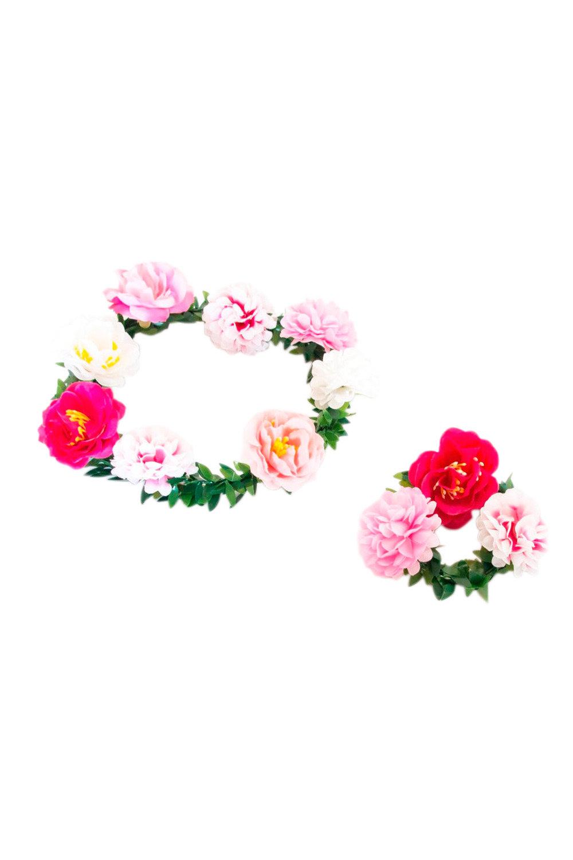 Make your own flower crown and bracelet set online shop ezibuy home make your own flower crown and bracelet set izmirmasajfo