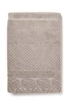 Portuguese Jacquard Bath Sheet