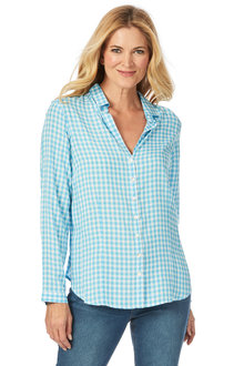 W.Lane Gingham Long Sleeve Shirt