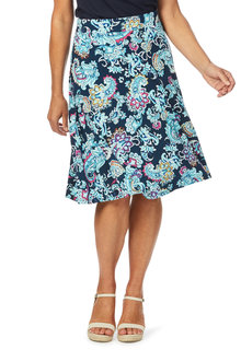 W.Lane Paisley Print Skirt