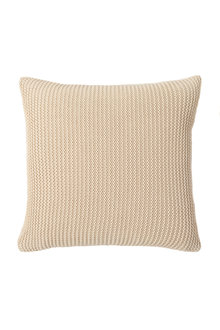 Cotton Knit Chunky Cushion