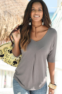 Urban Polka Dot Top