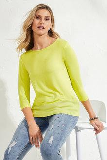 Urban Contrast Trim Top - 205687